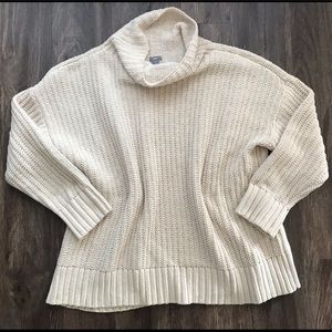 Aerie Chenille Oversized Turtleneck Sweater